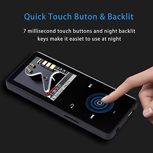 SOOTEWAY Reproductor de MP3 con Bluetooth 4.1, reproductor de ...
