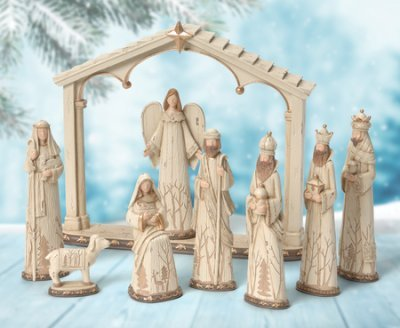 - Woodland Nature Nativity Collection