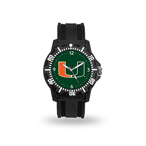 Rico Industries NCAA Miami Hurricanes Model Three Watch