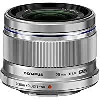 Olympus 25mm f1.8 Interchangeable Lens  - International Version (No Warranty)