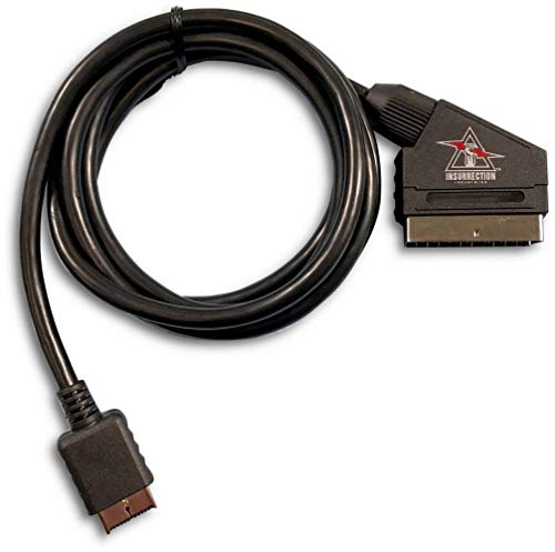 Sony PlayStation Compatible RGB SCART Cable