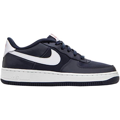 Nike Air Force 1 Valentine's Day Obsidian/White-Bleached Coral (GS) (6 M US Big Kid)