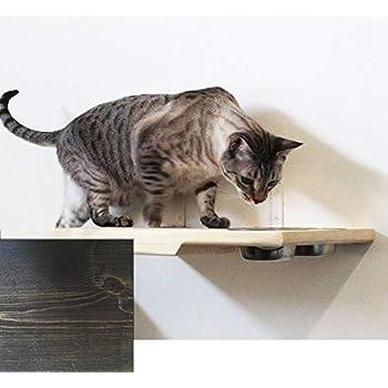 Amazon.com: Scurrty - Juego de estantes de pared para gatos ...
