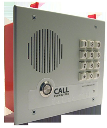 CyberData VoIP Intercom w/Keypad - Flush Mount