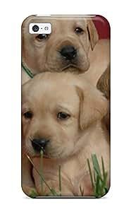 Iphone Case Tpu Case Protective For Iphone 5c Labrador Retriever Puppies