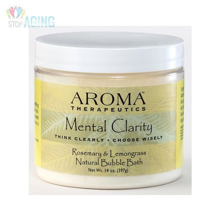 - Aroma Therapeutics Mental Clarity Natural Bubble Bath - Rosemary & Lemongrass