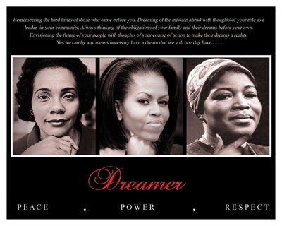Dreamer Trio Peace Respect Poster