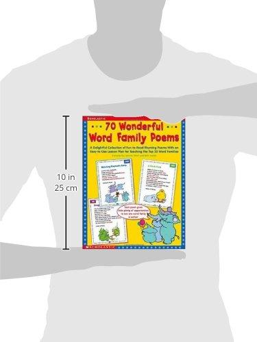 Amazon.com: 70 Wonderful Word Family Poems: A Delightful ...