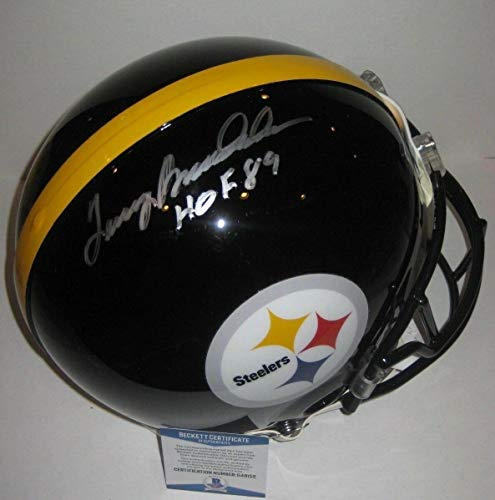 Terry Bradshaw Autographed Signed Full-Size Proline Steelers Helmet with Beckett Coa & HOF Ins - Certified Signature
