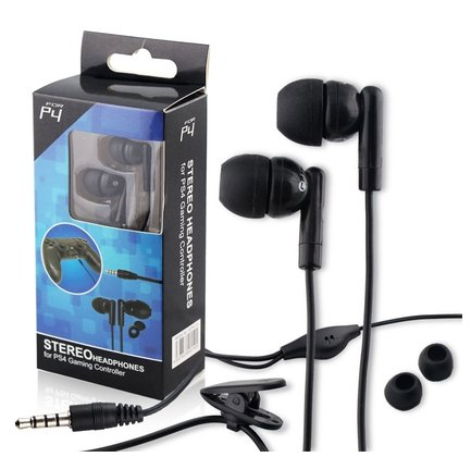 Earphone For Sony Playstation 4 PS4 Wired Gaming Headset Headphones Control MIC
