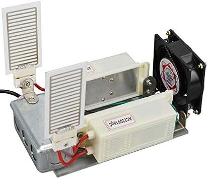 QWERTOUY Generador de ozono portátil con Ventilador 220V Limpiador ...