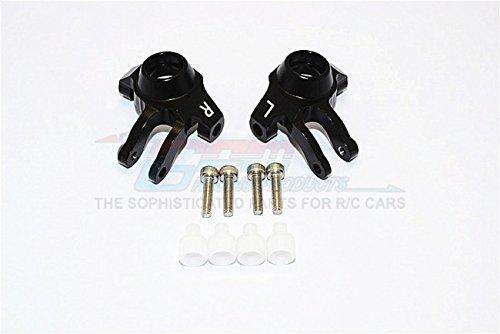 SCX10 II Aluminum Alloy FRONT KNUCKLE ARM Steering Knuckles 90046 90047 Black