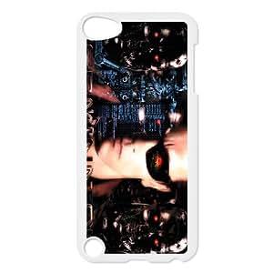 iPod Touch 5 Case White Terminator 063 Custom Phone Case Cover Clear XPDSUNTR10509