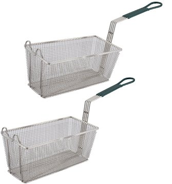 Blue Garland Basket - Culinary Depot Fryer Basket Set of-2 13-1/4
