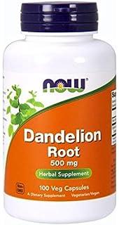 Raíz de diente de león, 500 mg, 100 Cápsulas - Now Foods