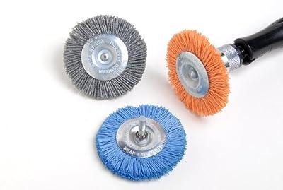 Dico 541-783-3 Nyalox Wheel Brush 3-Inch Blue 240 Grit