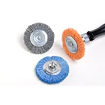 Dico 541-783-3 Nyalox Wheel Brush 3-Inch Blue 240 Grit