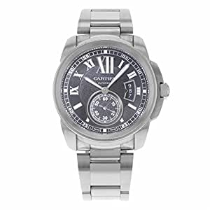 Cartier Calibre automatic-self-wind mens Watch W7100016 (Certified Pre-owned)