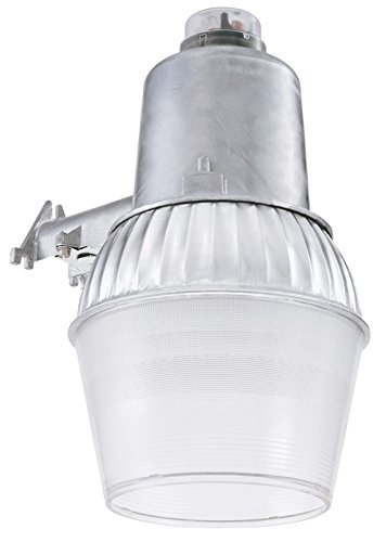 Lithonia High Pressure Sodium Area Light Dusk To Dawn 70 W 120 V 10 In. Aluminum Clear