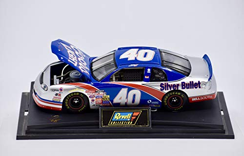 1997 - Revell Collection - Robby Gordon #40 - Coors Light/Silver Bullet - Chevy Monte Carlo - 1:24 Scale Die Cast - Super Speedway Design - Collectible (Coors Light The Silver Bullet Limited Edition)