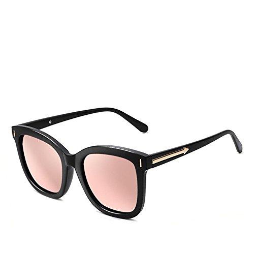 Frame Uv Decoración Gafas Hombres Aire De Black Gafas Cara Polvo Gafas Floral box Mujeres De Polarizado En De Sol Libre Viento Sol Sol Ronda A Gafas Cumpleaños B Al Regalos powder LLZTYJ BSqtw7U
