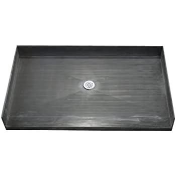 Tile Redi 3248CBF PVC Shower Pan 32x48 Barrier Free Shower Pan With  Integrated Center PVC