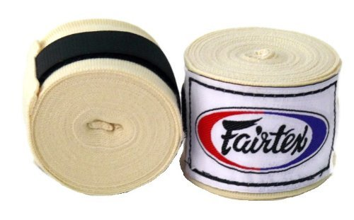 Fairtex Handwraps HW2 -1 Pair - Elastic Cotton Handwraps 180