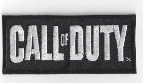 Call Of Duty Embroidered Badge Velcro Patch Gq