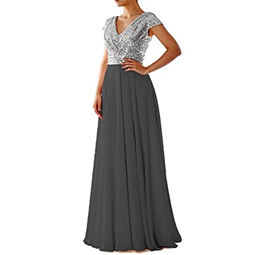 Black And Silver Formal Dress Amazon