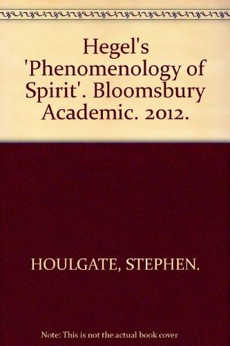 Hegel's 'Phenomenology of Spirit'. Bloomsbury Academic. 2012.