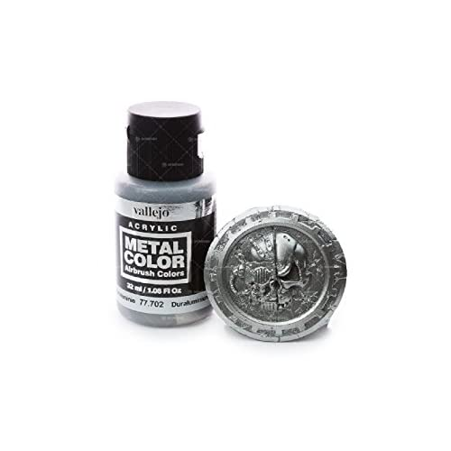 Acrylicos Vallejo 32ml foncé Aluminium Couleur métal