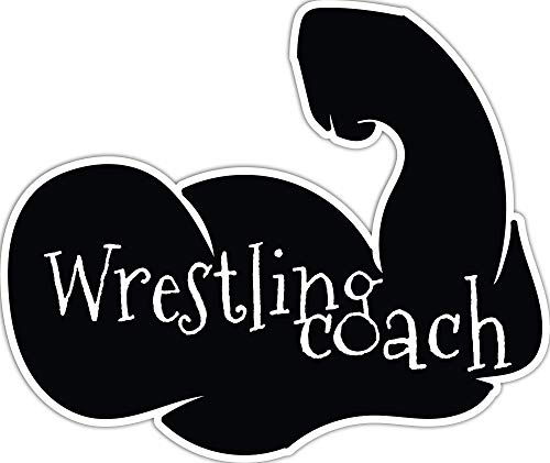 4 All Times Wrestling Coach Automotive Car Decal for Cars, Trucks, Laptops (12.0