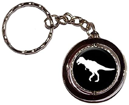 Dinosaurio Tyrannosaurus Rex T-Rex - Llavero anillo: Amazon ...