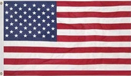 USA American Flag 2'x3' with grommets