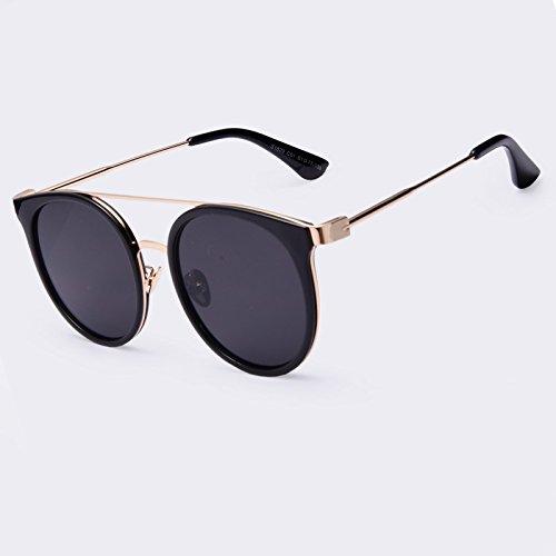 Gafas gafas piernas sol C04 alta calidad de de de Vintage UV400 Gafas revestimiento redonda Ponte TIANLIANG04 Doppio aleación sol C01 en vHU6q6