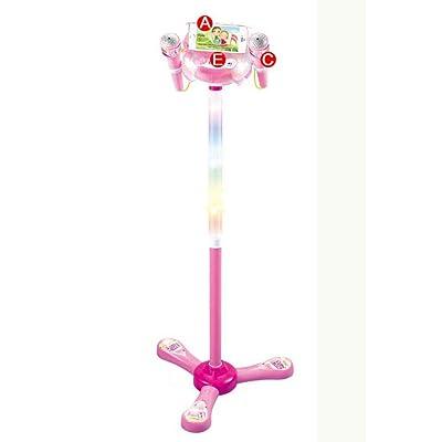 Forart Kids Karaoke Machine Child's Karaoke Toy Stand Up Microphone Play Set Built-in MP3 Player, Speaker: Home & Kitchen