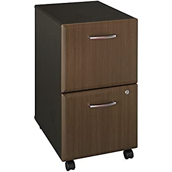 Amazon Com Bush Business Furniture Bush Industries Walnut