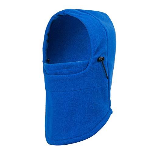 Taykoo Winter Balaclava Windproof Ski Face Mask,Winter Warmer Protective Headwear Wind Resistant Cap,Balaclava Hood for Men Women(Blue)