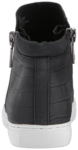 York Cole Sneaker Embossed top womens Print Black Kiera Fashion Zippers New With Kenneth Mid 8qnEdw8A