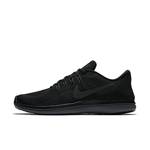 (Nike Men's Flex RN 2017 Running Shoe Black/Metallic Hematite/Anthracite/Dark Grey Size 14 M US)