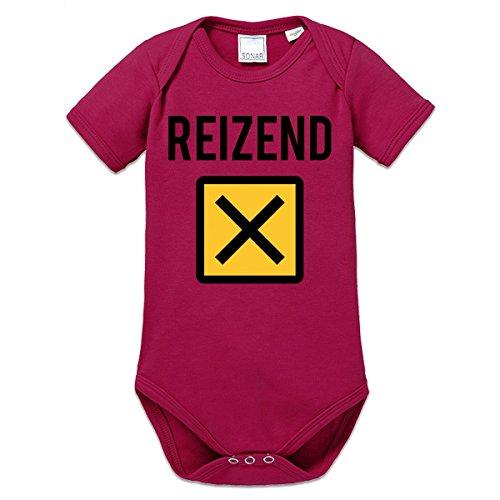 Reizend Warnzeichen Baby Strampler by Shirtcity