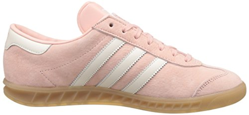 Basses Adidas White gum off Femme Hamburg Sneakers Pink vapour Rose qwagH4npw