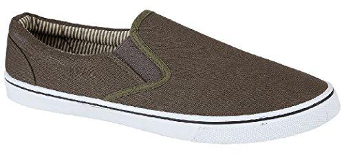 Scarpe Khaki da Sensation uomo barca Footwear 1wz5Tqa