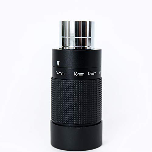 """MEOPTEX 1.25""""-8-24mm ZOOM eyepiece,FMC for Telescope with T-Thread"""