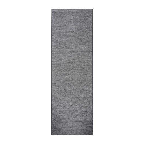 Ikea Panel curtain, dark gray 24x118