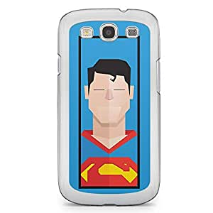 Superman Samsung Galaxy S3 Transparent Edge Case - Street Fighter Polygonal Collection