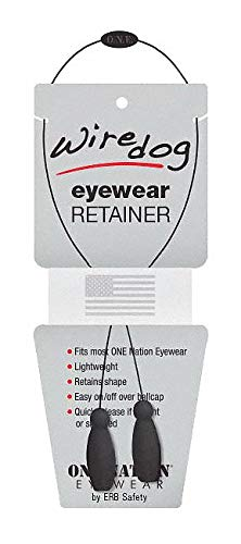 Eyewear Retainer, Black, Slip On, 16-1/2'' L pack of 5 by ERB (Image #1)
