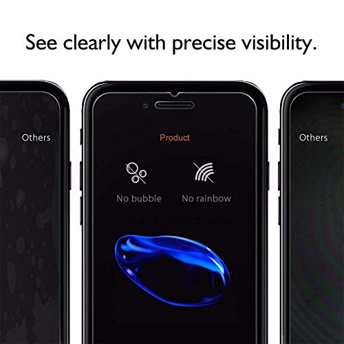 【3-Pack】iPhone 8 Plus/7 Plus/6 Plus Screen Protector [5.5''inch], HD Tempered Glass,Anti-Scratches,Anti-Fingerprint, Case Friendly Screen Protector for Apple iPhone 8 Plus/7 Plus/6 Plus by TangDirect (Image #2)