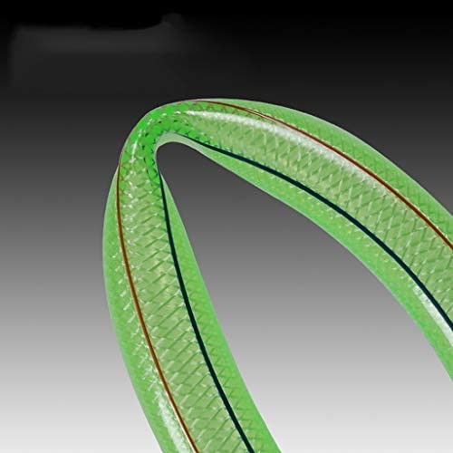 Garden Hose 25mm PVC Green High Pressure Wear Resistant Household Tap Water Hose (Size : 10M(32.8FT))
