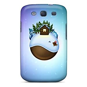 New Style Case Cover LGTDkDf6253FaSox Christmas Background Compatible With Galaxy S3 Protection Case by icecream design